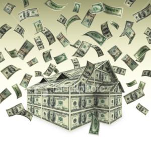 US money flying